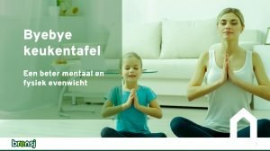visual webinar mentaal welzijn 'Byebye keukentafel'