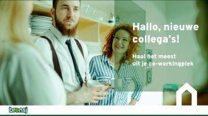 visual webinar mentaal welzijn 'Hallo, nieuwe collega's!'