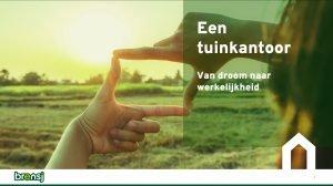 visual webinar 'Een tuinkantoor'
